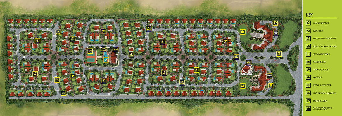 Jewar Compound Master Plan